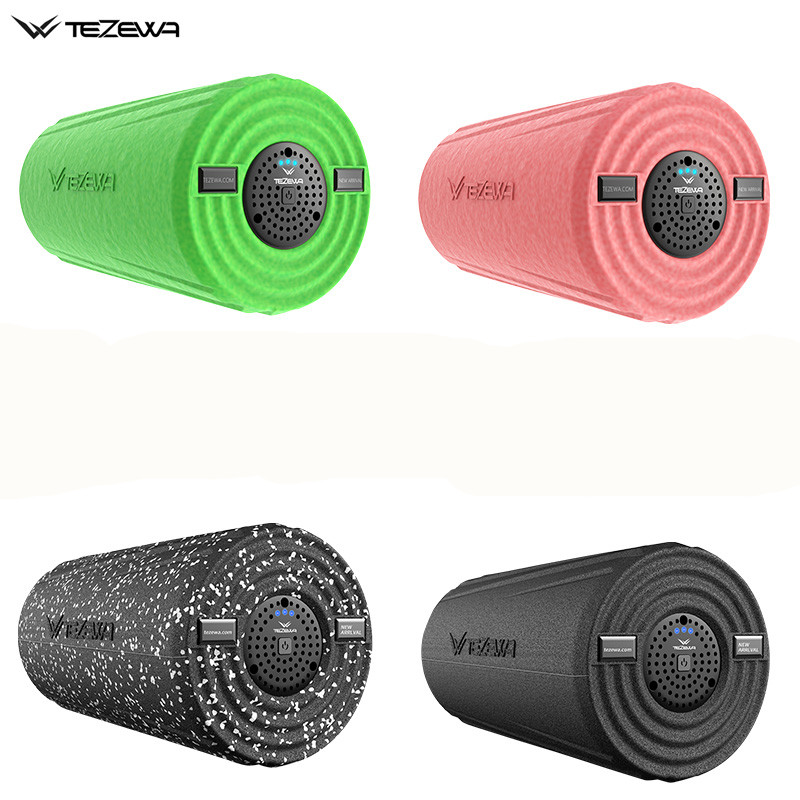 Электрический Вибрационный Массажный роллер для йоги/ролик для пилатеса для массаж мышц глубокий ткань с 3 скоростной доставить по DHL или ... - 5