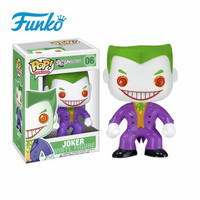 FUNKO POP 1pcs First Edition Official DC Heroes: The Joker Doll Action Figures Model Gift For Friend Birthday Wedding With Box