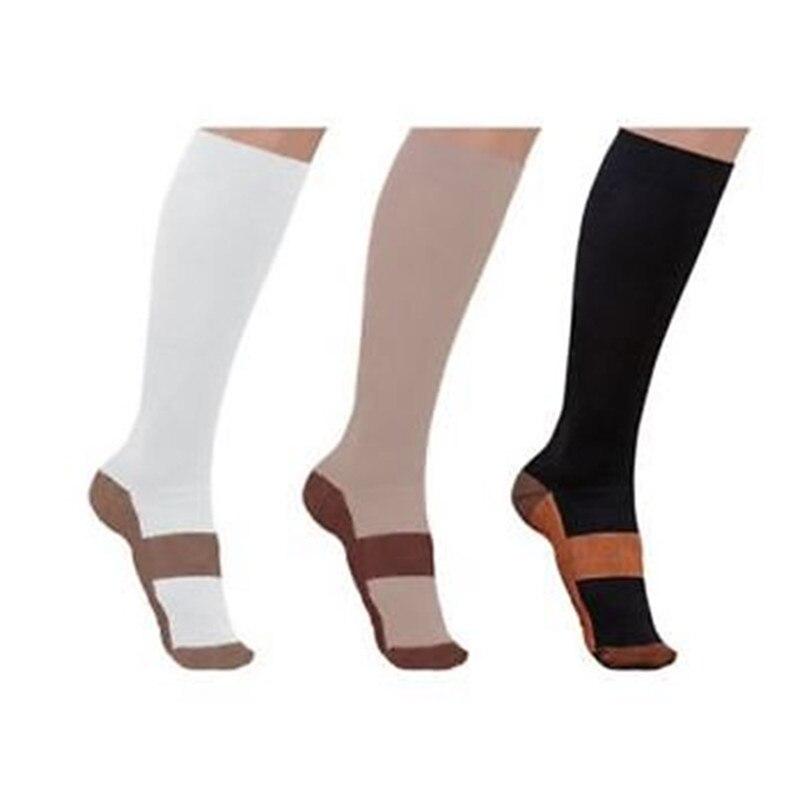 Copper Infused Compression Socks 20-30mmHg Graduated Men's Women's S-XXL Unisex Socks