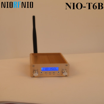 Manufactory Price Free Shipping Made by Our Factory NIO-T6B 1W/6WF Professtional-fm radio -transmitter Kit for Broadcasting