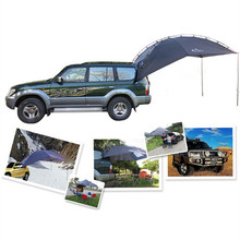 Outdoor Folding Car Tent Camping Shelter Anti-UV Garden Fishing Waterproof Car Awning Tent Picnic Sun Shelter Beach 5-8 Persons