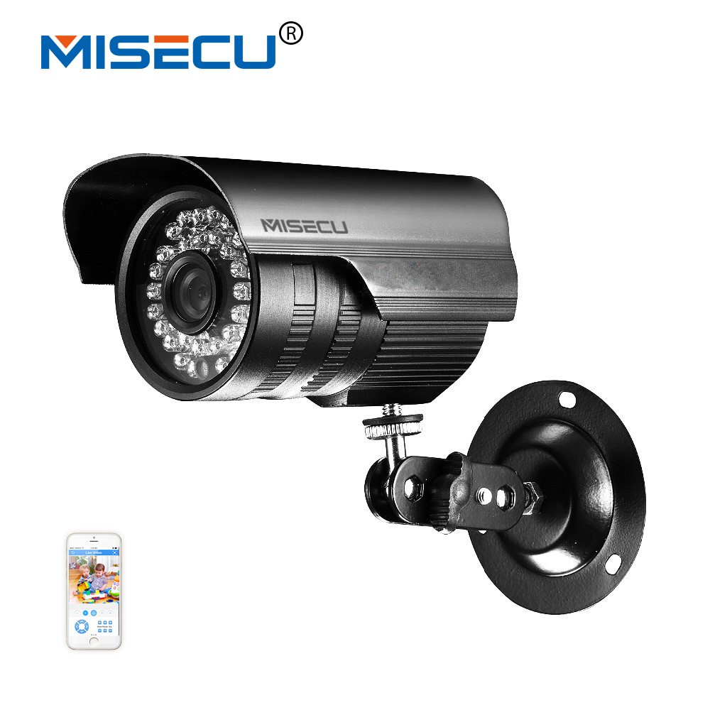 MISECU 1280*960p IP Camera 1.3mp ONVIF 2.0 Waterproof Outdoor Indoor IR CUT Night Vision P2P Plug and Play, free shipping poe 1 0mp 1280 720p ip camera onvif p2p outdoor protection with ir cut night vision plug and play alarm camera free shipping