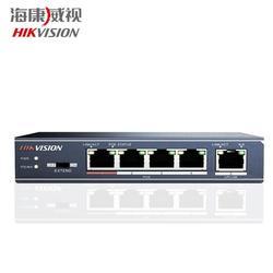 HIK DS-3E0105P-E переключатель инжектора PoE 5 портов (1 канал связи, 4 PoE) 10/100 Мбит/с Новый