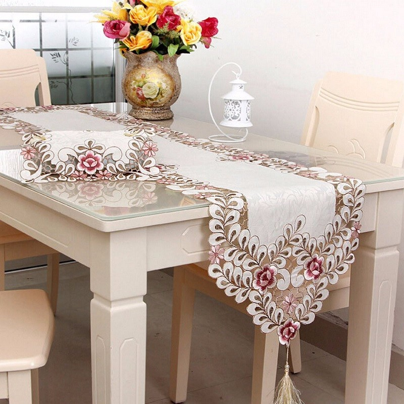 Aliexpresscom Buy Simple Embroidery Cloth Pastoral Dining Table