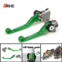 цена на For Kawasaki KDX 250SR ksd250sr 1992 1993 1994 CNC Dirt Bike Motocross Accessories Pit Bike Brake Clutch Lever Handle