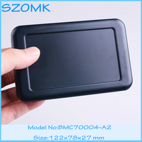 1 Piece Free Shipping Plastic Case For Electronics Black Color Enclosures Battery Junction Box For Pcb