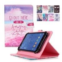 Tampa Da Caixa de Couro Universal Para 10 polegada Tablet Android Casos para Asus Transformer Pad TF103C 10.1