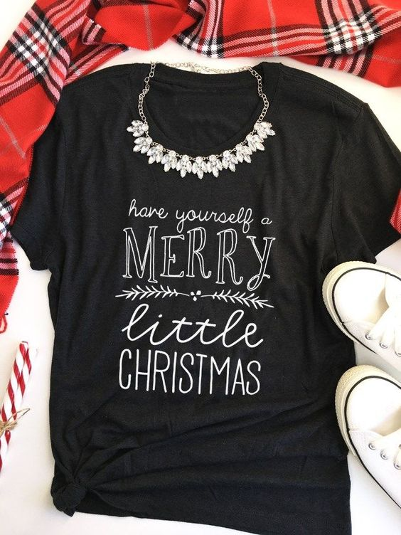 merry christmas t shirt women fashion funny slogan unisex cotton tees holiday grunge graphic kawaii vintage shirt goth art tops in t shirts from womens