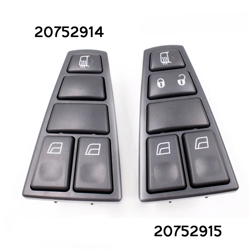 Fast Delivery Car Master Power Window Switch For Volvo Truck VNL FM FH12 High Quality 20752915 20752914