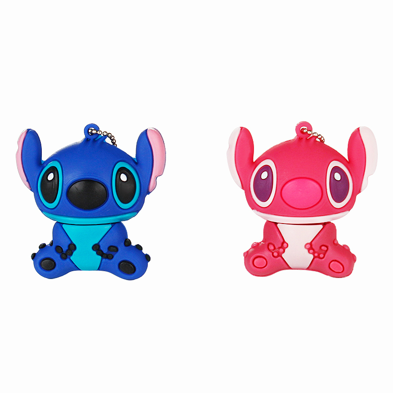 Image 5 - 2019 Cute Stitch 32GB Usb Flash Drive Cartoon Pen Drive 64gb 128gb Pendrive 16gb 8gb 4gb Usb 2.0 Flash Memory Stick Lovely Gift-in USB Flash Drives from Computer & Office