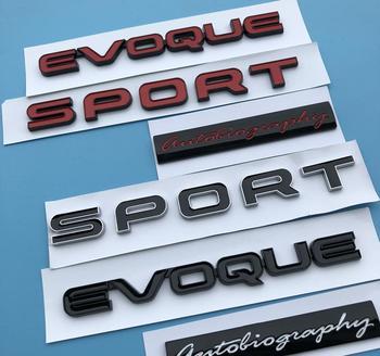 ABS Plastic Sport EVOQUE Car Emblem Badge Logo