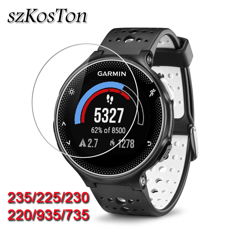 Tempered Glass For Garmin Forerunner 235 225 220 230 735 935 Glass Film 9H Clear Watch Screen Protective Film Guard For Garmin