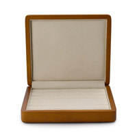 FANXI Solid Wooden Jewelry Display Ring Display Holder with Microfiber Jewelry Box Stand for jewelry Shop