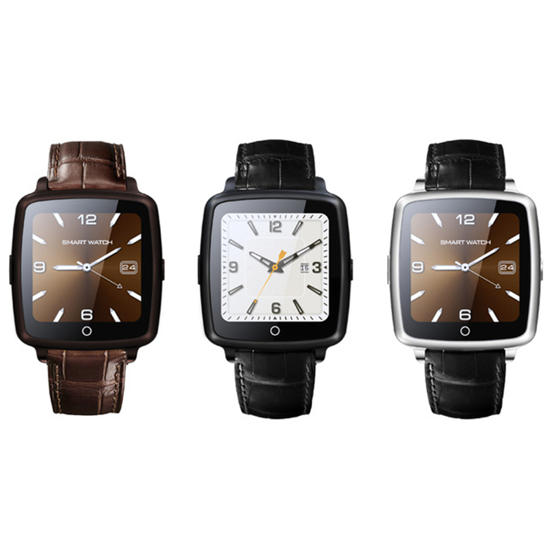 Original SmartWatch U11C Leather Strap Smart Watch Support SIM Card Bluetooth Connectivity for Apple Android Phone