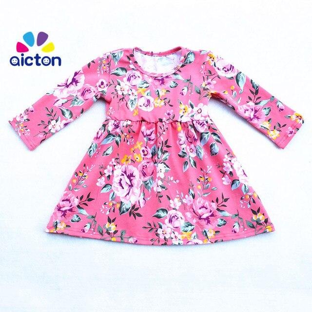 Neuesten Entzückende Mädchen Baumwolle Druck Baby Kleider Designs ...