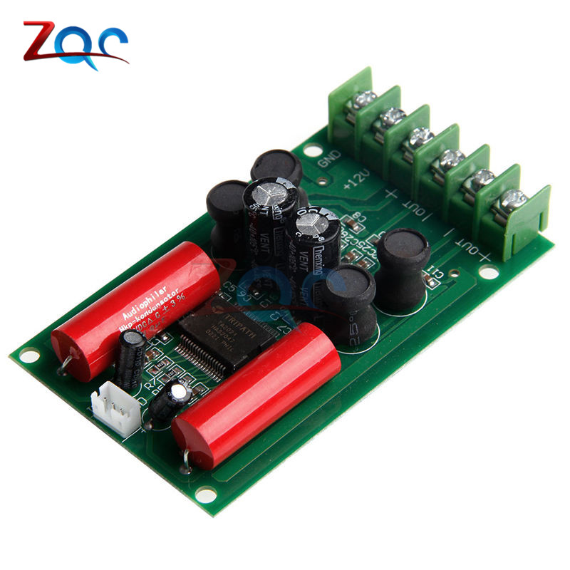 T-Amp Tripath TA2024 2x15W AMP Amplifier Board Module Mini HIFI Digital Audio 320-600 Module For Car jtron ta2024 dc 12v double track 15w 15w car pc hi fi mini digital amplifier board green