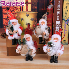 цены на Merry Christmas Decoration For Home Santa Claus Christmas Toy Home Decor Party Decoration Christmas doll Santa Claus Party Favor  в интернет-магазинах