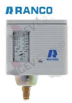 pressure control Ranco type O16-H6703 pressure connection vertical ND refrigeration