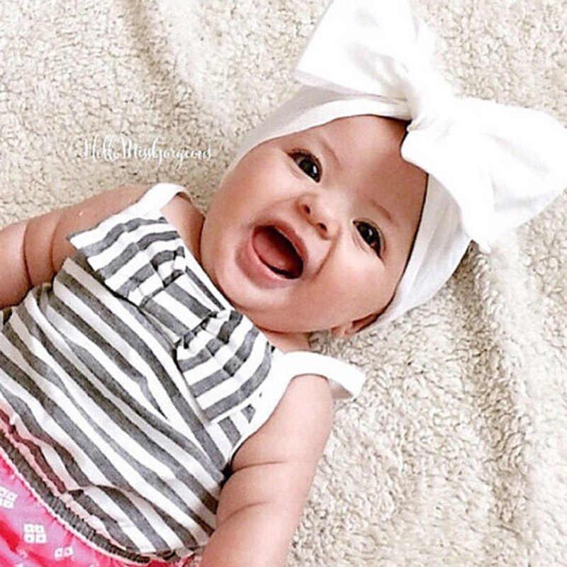 """Новый 2019 """"сделай сам"""" для новорожденных девочек повязка на голову в горошек с бантом с заячьими ушками Эластичный Тюрбан из хлопка обруч с бантиком головка Обёрточная бумага повязка на голову аксессуары"""