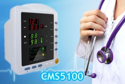 CMS5100 Multi-parameter Patient Monitor  ICU Patient Monitor, SPO2, NIBP, EG, Pulse Rate Parameters