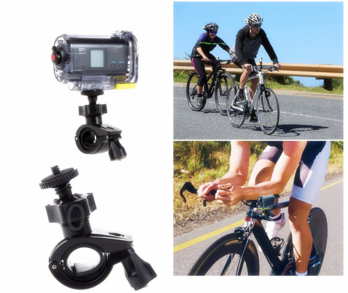 <font><b>Accessories</b></font> Bike mount holder for <font><b>Sony</b></font> Action Cam HDR AS20 AS200V <font><b>AS30V</b></font> AS15 AS100V AZ1 AS200V HDR-AS20V FDR-X1000VR image