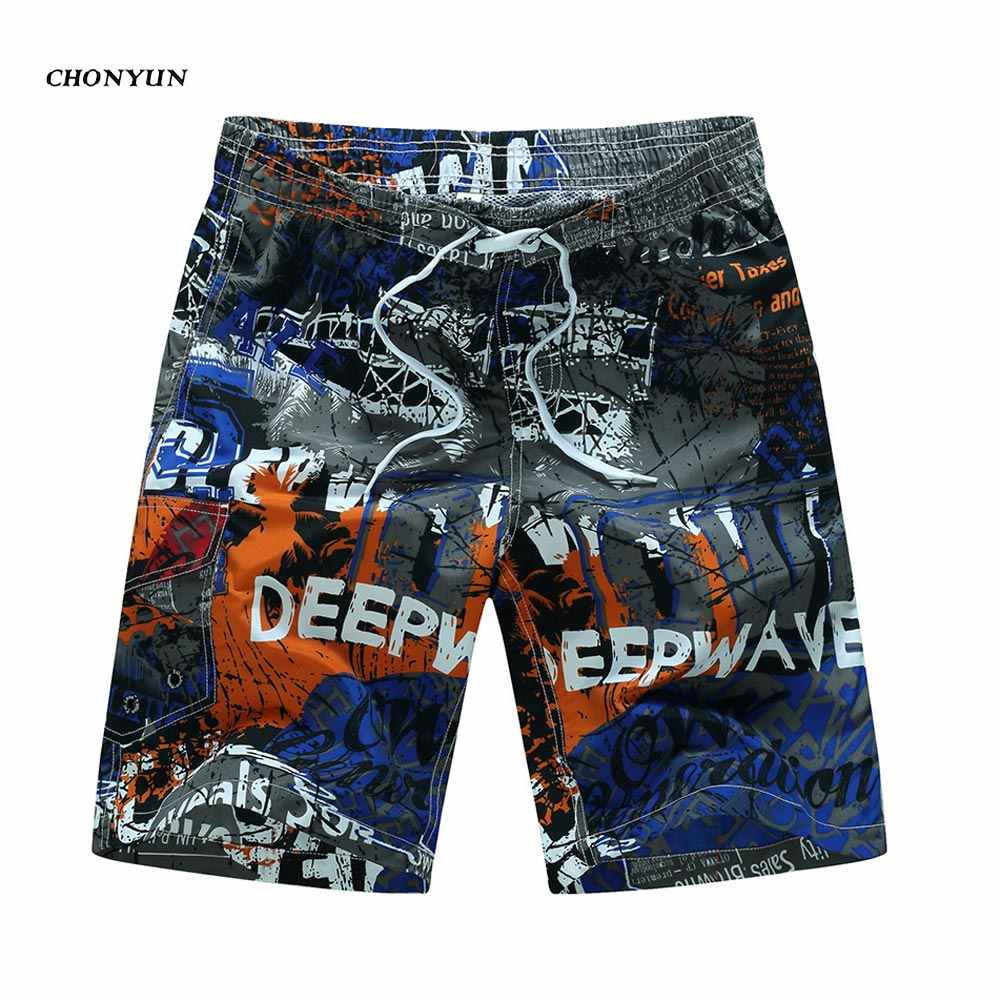 Badmode Heren Swim Shorts Surf Dragen Board Shorts 2020 Zomer Badpak Bermuda Strand Boardshorts Trunks Korte Plus Size M-6XL