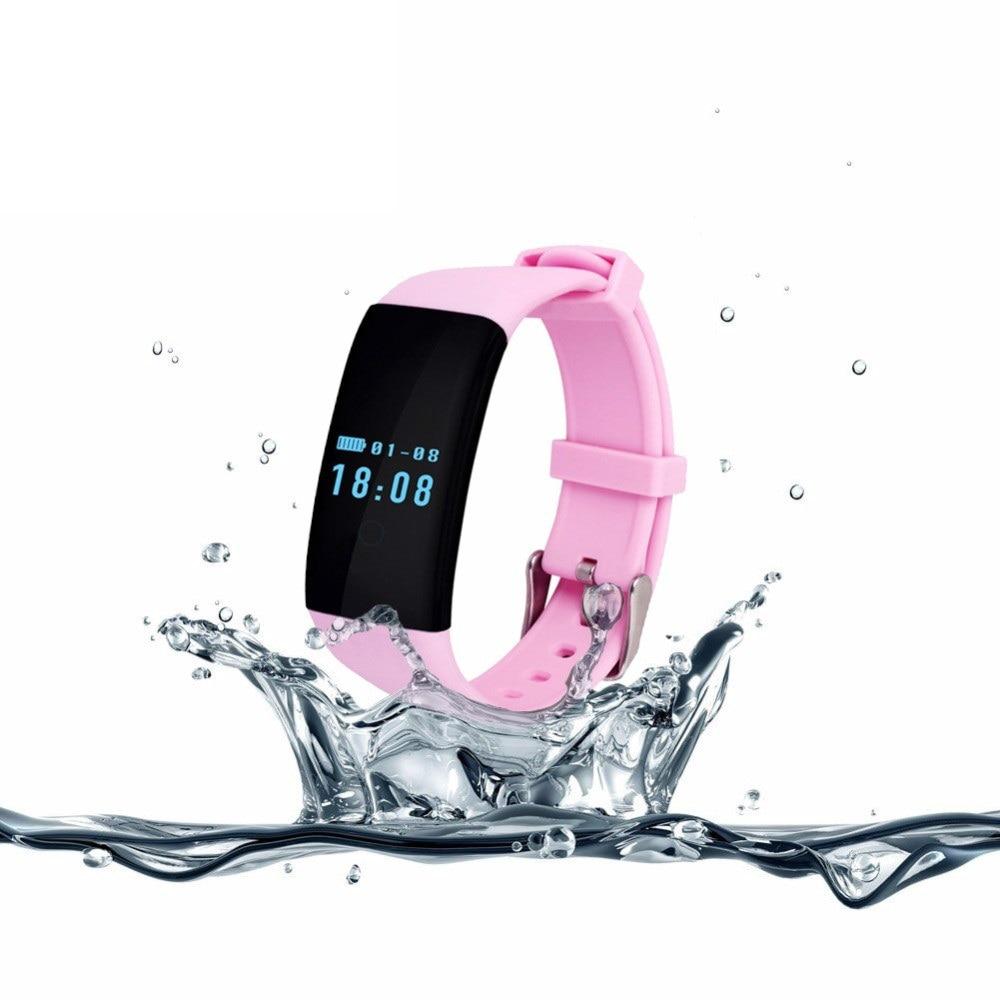 D'origine TK04 Moniteur De Fréquence Cardiaque Smartband Étanche Nager Fit Bit Bande Intelligente Bracelet De Traqueur De Forme Physique pour Téléphone PK Fitbit
