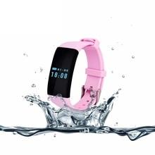 Оригинальный TK04 сердечного ритма Мониторы SmartBand Водонепроницаемый Плавание fit бит Смарт Браслет Фитнес трекер для телефона PK fitbit