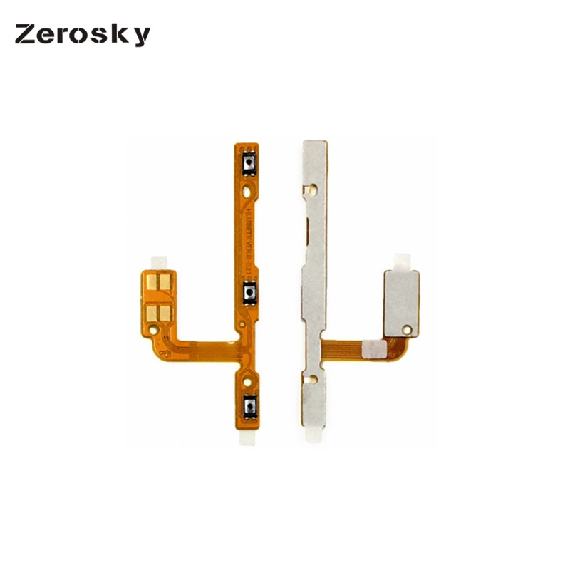 Zerosky New For Huawei Mate 10 Lite Volume Power On Off Button Ribboon Flex Cable High Quality