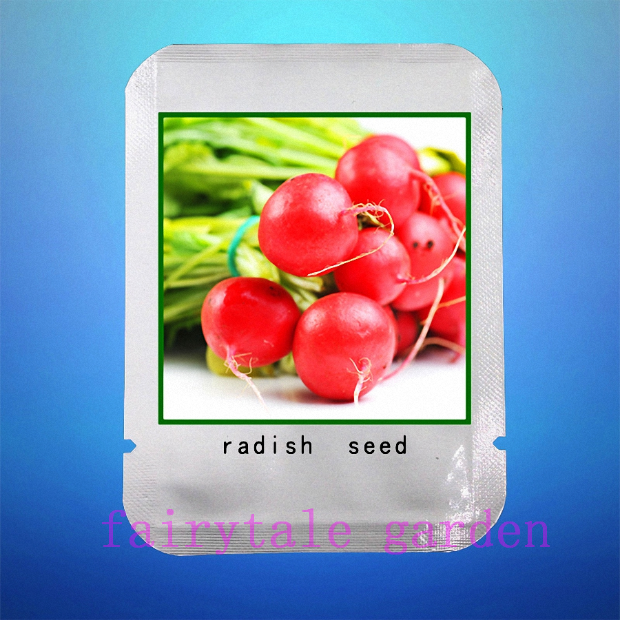 radish seeds,100pcs/bag red radish seeds,Organic heirloom fruit vegetable seeds,professional pack seeds,plant for home garden