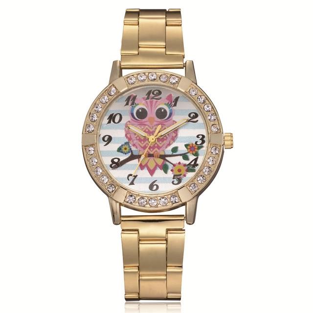 6a5edf4b03ca Moda mujer relojes reloj de 2018 de la marca de lujo reloj de cuarzo dama de