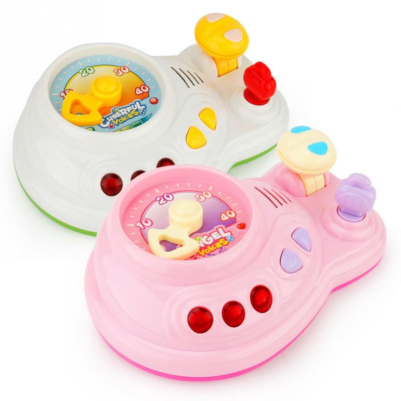 Детские, для малышей Управление палубе с легким музыка ребенок Игрушечные лошадки дети весело подарки на день рождения