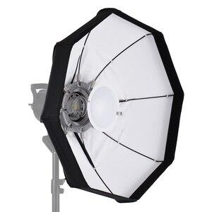 Image 1 - 8 מוט 60cm לבן מתקפל יופי מנה מטריית Softbox עם Bowens הר לסטודיו Strobe פלאש אור