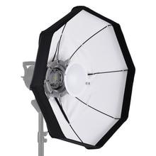 8 Pole 60cm White Foldable Beauty Umbrella Dish Softbox with Bowens Mount for Studio Strobe Flash Light