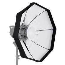 8 Pole 60cm beyaz katlanabilir güzellik şemsiye çanak Softbox stüdyo Strobe flaş ışığı için Bowens dağı