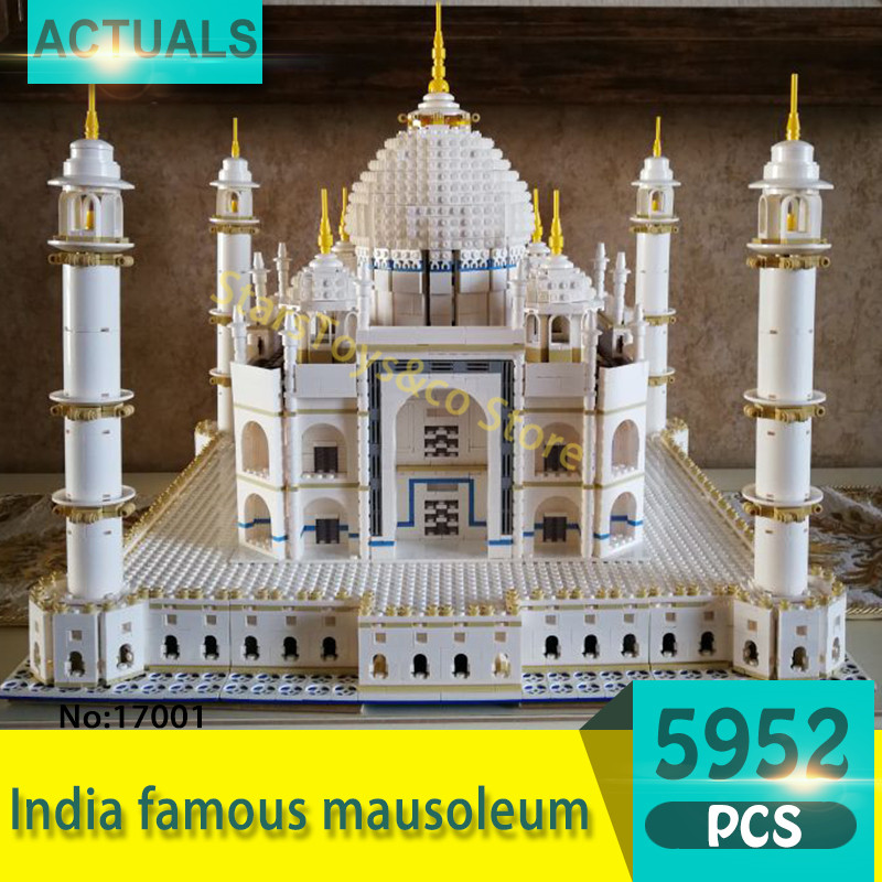 Lepin 17001 5952Pcs Street View series India famous mausoleum Model Building Blocks Set  Bricks Toys For Children Gift 10189 pastoralism and agriculture pennar basin india
