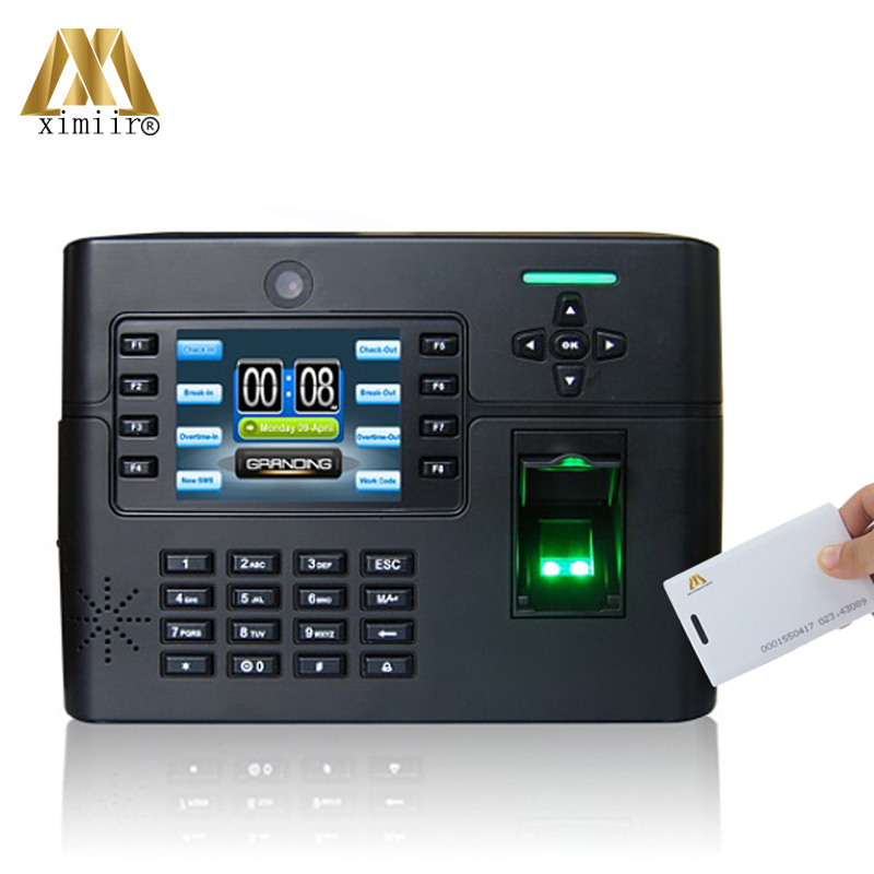 High Quality IClock990 Biometric Fingerprint Access Control With RFID Card For Door System Smart Time Attendance