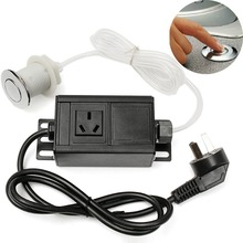 220 380V Air Switch Button & Plug For Massage Chair Spa Waste Garbage disposal Favorable Price