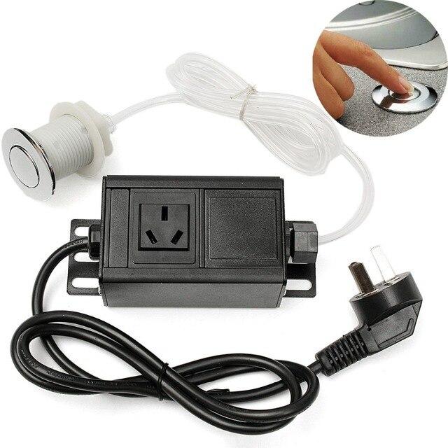220 380V Air Switch Knop & Plug Voor Massage Stoel Spa Afval vuilophaal Gunstige Prijs
