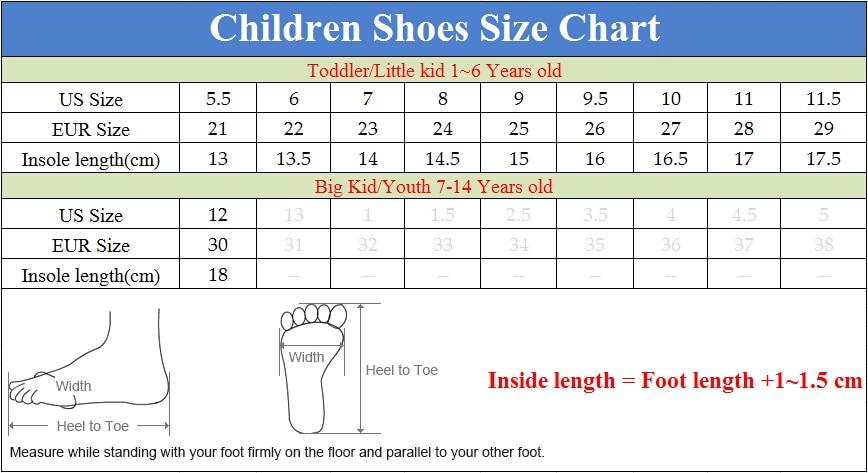 us size 6 children's shoes