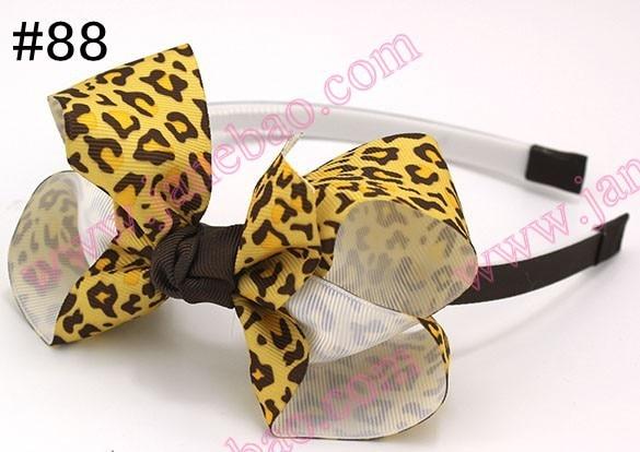 500 шт. 4,5 ''повязки на голову с бантом и повязка на голову для девочек innfant многослойный бант повязка на голову