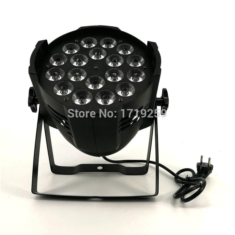 Aluminum alloy LED Par 18x12W RGBW 4in1 LED Par Can Par 64 led spotlight dj projector wash lighting stage lighting