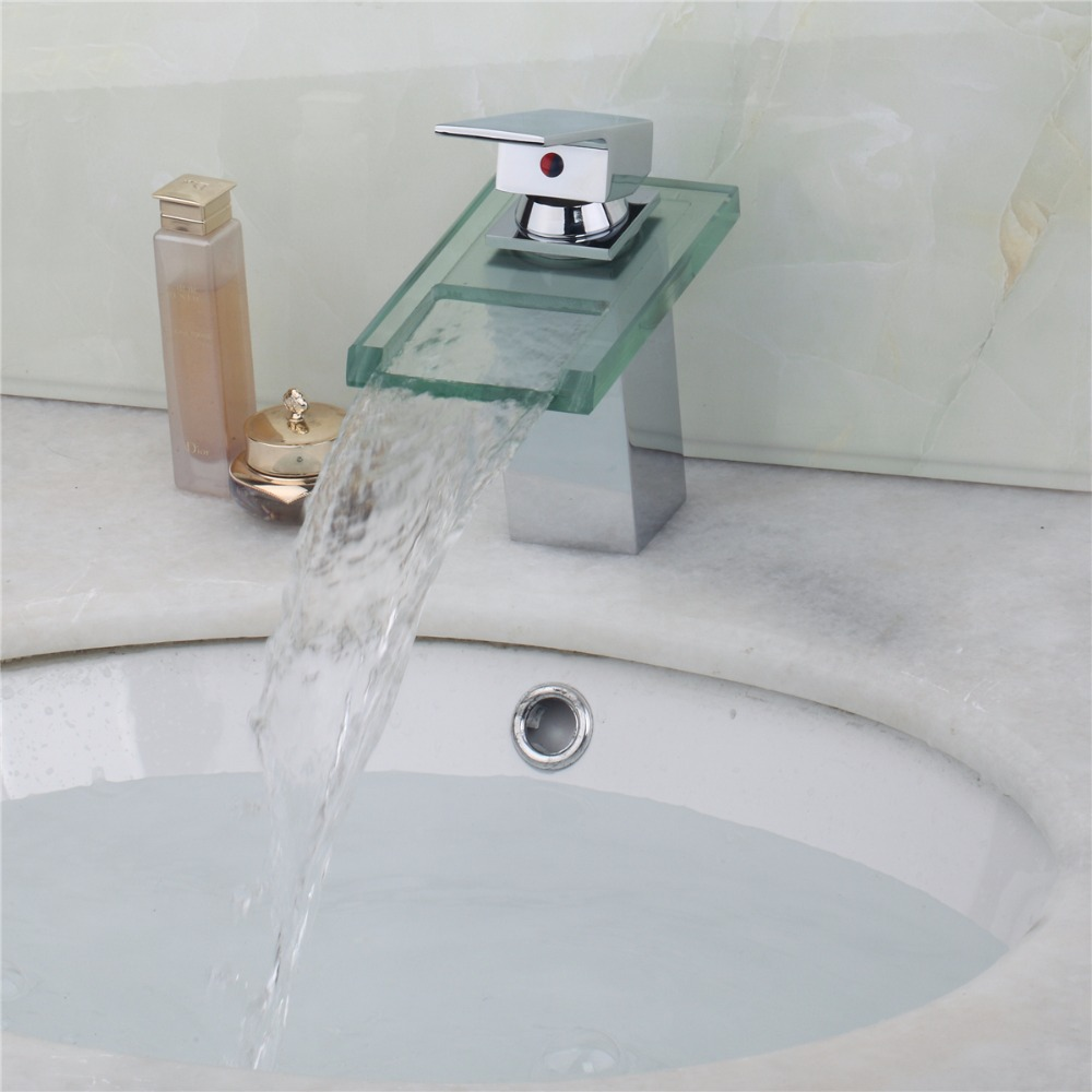 Superior in Quality InexpensiveSingle Handle Deck Mounted Waterfall ...