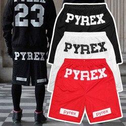 Fashion 2015 summer hba pyrex shorts men casual hip hop shorts black white red.jpg 250x250