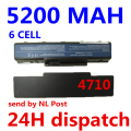 5200MAH Laptop Battery for Acer Aspire 4710 4720 5335Z 5338 5536 5542 5542G 5734Z 5735 5740G 7715Z 5737Z 5738