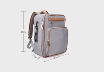 Baby Stroller Sets | 4pcs/set Business Style Diaper Backpack Shell Shape Baby Nappy Bags Stroller Maternity Bag Professional Mom Travel Backpacks