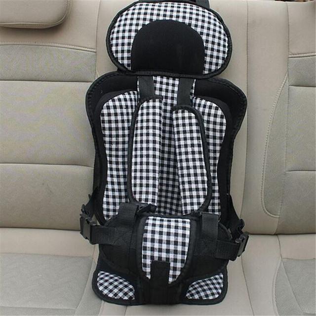 Cadeira de criança Cadeira Carro Crianças Crianças Proteção Do Carro 0-4 Anos de Idade Do Bebê Do Assento de Carro, Portátil Confortável Infantil segurança do bebê, Assento Do Bebê Almofada