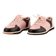 Кеды женские кожаные кроссовки для боулинга плоская подошва