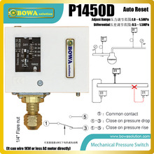 1~45bar  auto reset pressure controls  installed in R410 HAVCR products and equipments, such as precision air conditioners