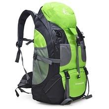 50L mochila impermeable de senderismo para hombres mochilas de viaje de senderismo para mujeres bolsa de deporte al aire libre para escalada bolsas de Montañismo Paquete de senderismo